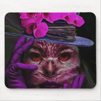 Lady Owl Mousepads