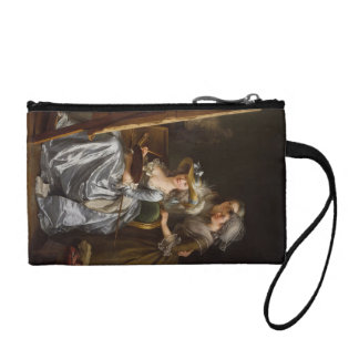 Lady Painter and Her Friends Coin Wallet