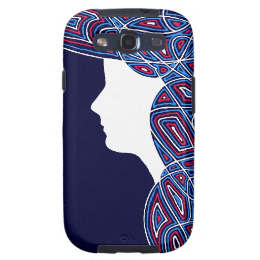 Lady Patriot Galaxy S3 Cover