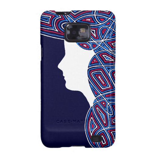 Lady Patriot Galaxy SII Cover