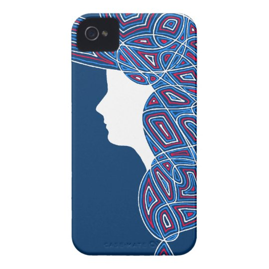 Lady Patriot iPhone 4 Case