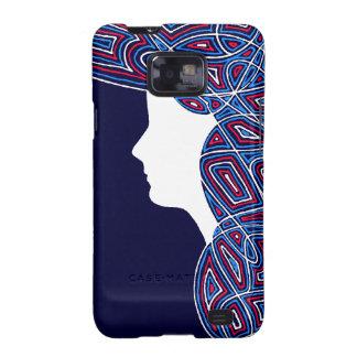 Lady Patriot Samsung Galaxy S2 Case