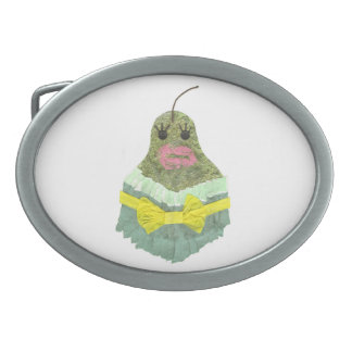 Lady Pear Buckle Belt Buckle