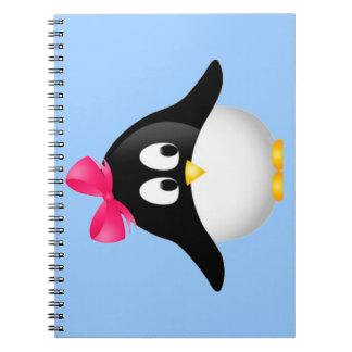 Lady Penguin Notebook
