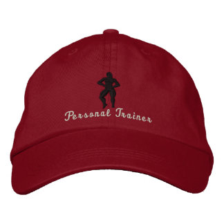 Lady Personal Trainer Adjustable Embroidered Baseball Hat