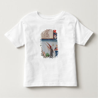 Lady Philosophy leads Boethius in flight Toddler T-shirt