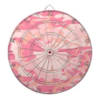 Lady Pink Camo Dartboard With Darts