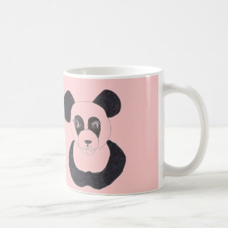 Lady Pink Panda Coffee Mug
