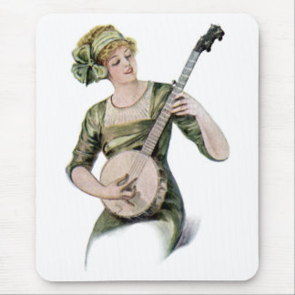 Lady Player Mosuepad Mouse Pad