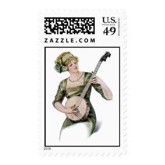 Lady Player Postage