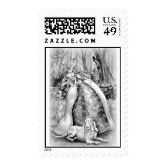 Lady Poe 2 stamp