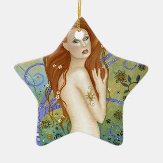 Lady Poseidon Ceramic Ornament