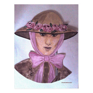 Lady Postcard