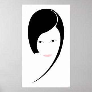 lady print