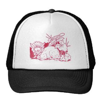 Lady Rabbit Wearing Glasses Trucker Hat