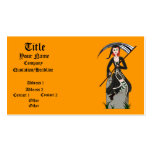 Lady Reaper Business Cards