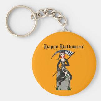 Lady Reaper Keychain