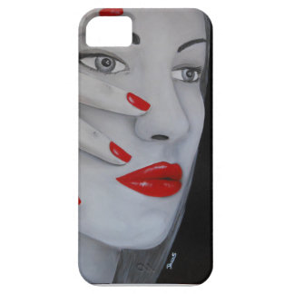 Lady Red iPhone SE/5/5s Case