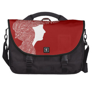 Lady Red Laptop Computer Bag