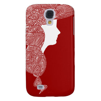 Lady Red Samsung Galaxy S4 Cover