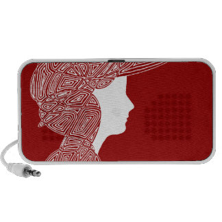 Lady Red Travelling Speakers