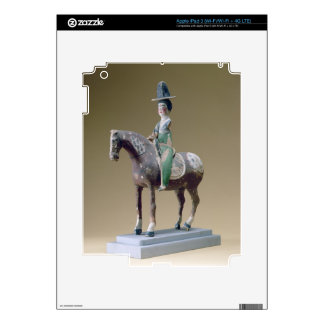 Lady rider, Astana, 7th century (stucco) iPad 3 Decals