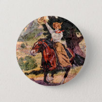 Lady rider button