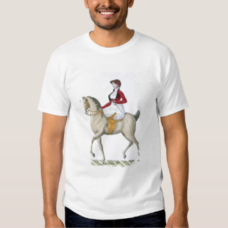 Lady riding sidesaddle, from 'Costumes Parisien', Shirt