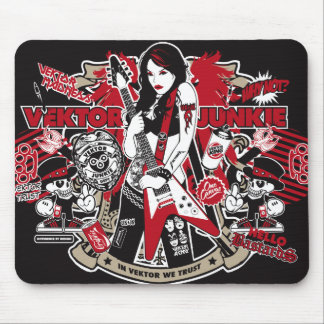 Lady Rocker - Mousepad