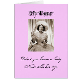 Lady Ronette - Customized Card