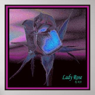 Lady Rose #9 Print