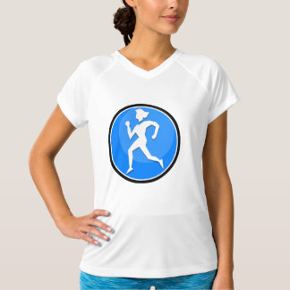 Lady Runner Carolina Blue T-Shirt