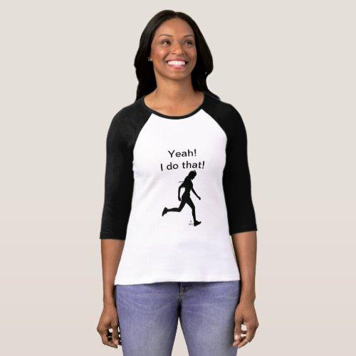 Lady Runner's T T-Shirt