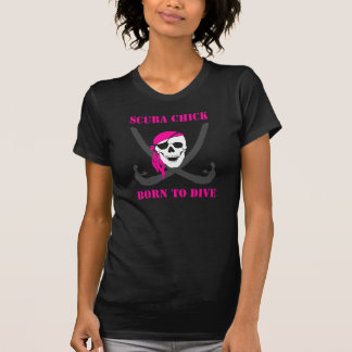Lady's Born to Dive T Shirt