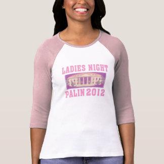 Lady's Night Palin 2012 T-Shirt