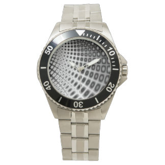 Lady´s watch with 3D fractal design