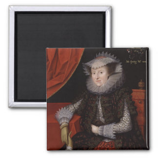 Lady Scudamore 2 Inch Square Magnet