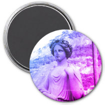 Lady Sculpture Magnet