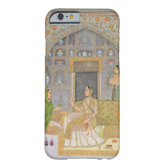 Lady seated in a Pavilion with attendants, from th Barely There iPhone 6 Case