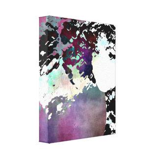 """""""LADY-SILEX-3"""" on canvas"""