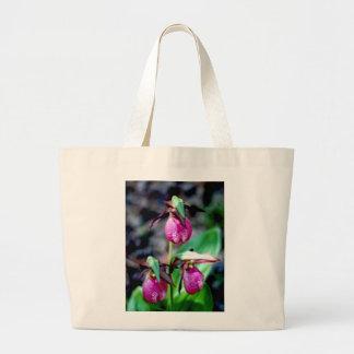 Lady Slipper I, Pink Green Garden Delight Bag