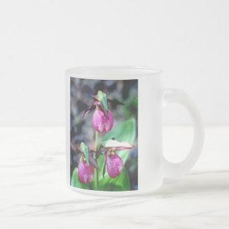 Lady Slipper I Pink Green Garden Delight Mug