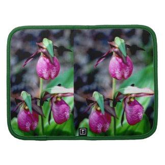 Lady Slipper I, Pink Green Garden Delight Organizer