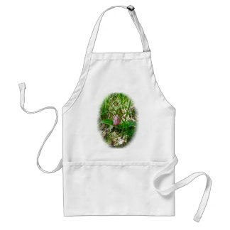 Lady Slipper Wild Orchid Apron