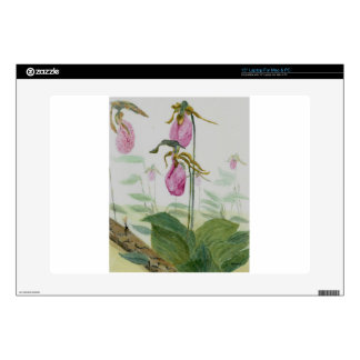 """Lady Slippers Decals For 15"""" Laptops"""
