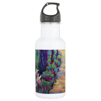 Lady Slippers on the Path 18oz Water Bottle