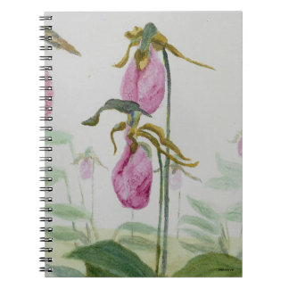 Lady Slippers Spiral Notebook