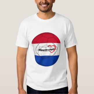 Lady Soccer fan of the_Netherlands Playeras