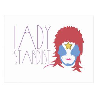 Lady Stardust Postcard