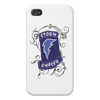 Lady Storm Chaser Case For iPhone 4